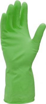 Rubber Gloves Large Green