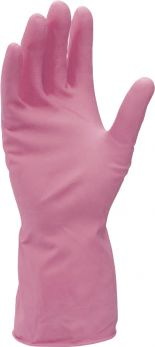 Rubber Gloves Large Red