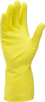 Rubber Gloves Large Yellow