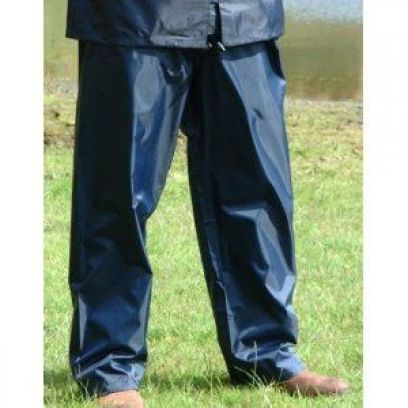 Regatta Waterproof Over Trouser Navy Blue - Medium