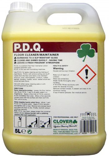 PDQ Floor Cleaner & Maintainer x 5 ltr