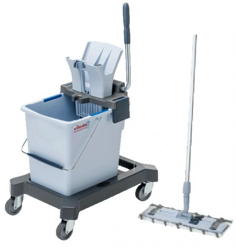 Vileda Ultraspeed Pro Bucket & Mop System C/W Handle