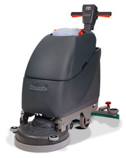 Numatic TwinTec TGB4045 Scrubber Drier With Brush & Battery
