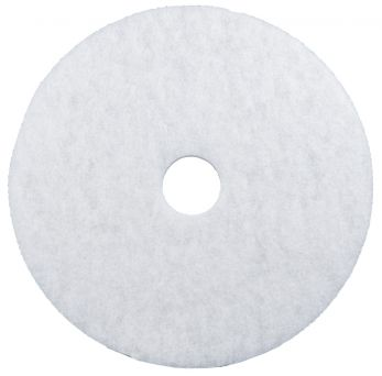 White Floor Pad 17 inch
